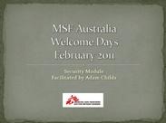 MSF 2011
