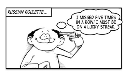 Gambler's Fallacy - tCeti